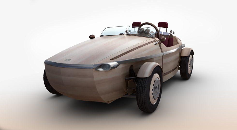 Toyota Setsuna de madera