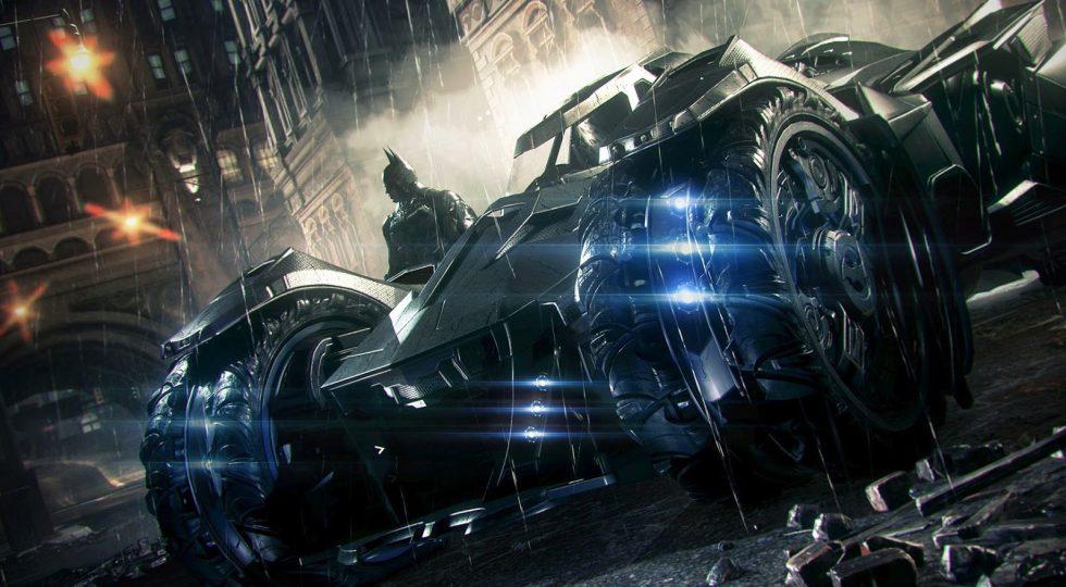 Ben Affleck disfruta con el nuevo Batmóvil