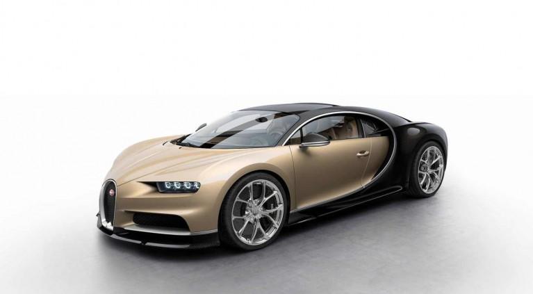 Y tú, ¿de qué color elegirías el Bugatti Chiron?