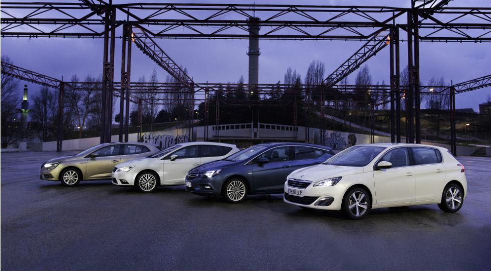 El Opel Astra se impone entre los compactos