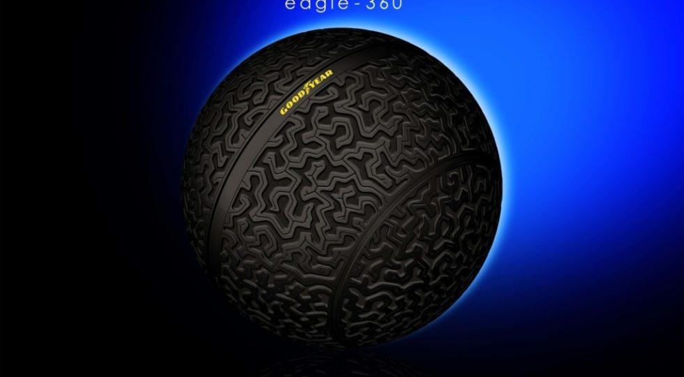 El neumático del futuro es esférico y, además, levita
