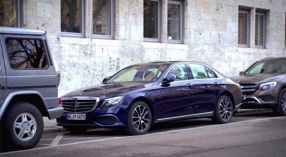 El nuevo Mercedes Clase E se aparca solo y a distancia