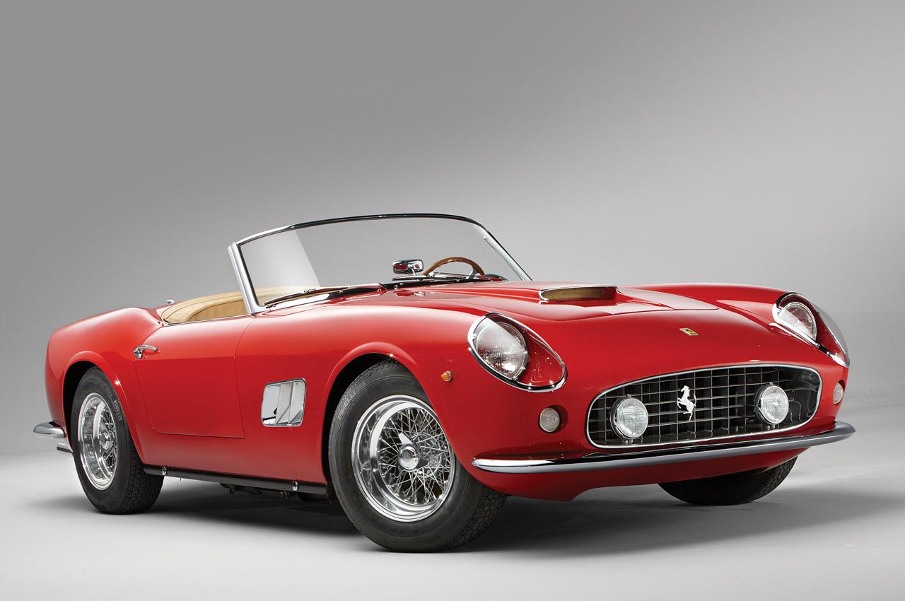 10 1961 Ferrari 250 Gt Swb California Spider Motor El Pais