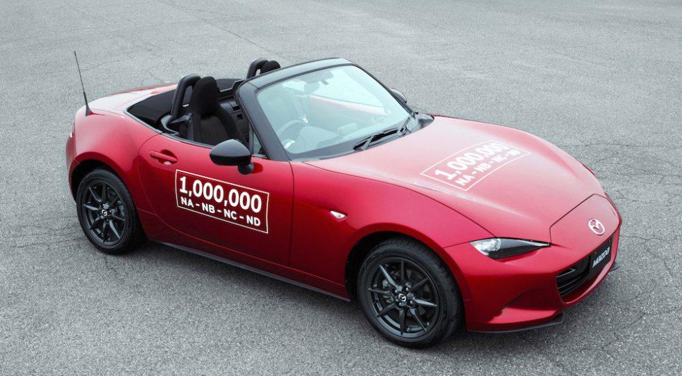 Mazda MX-5 un millón