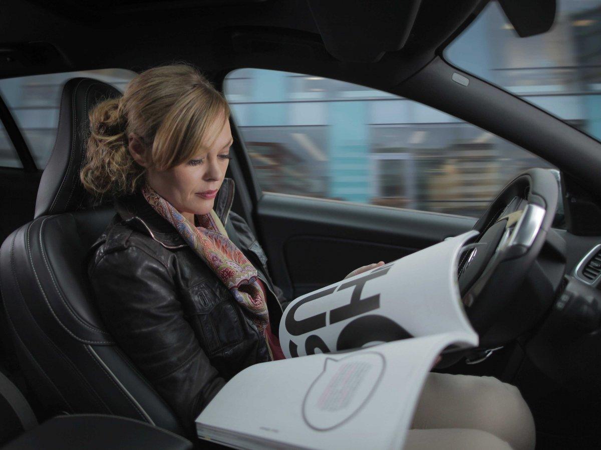 conducir coche autonomo