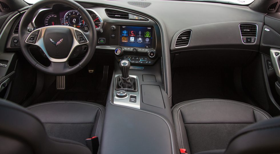 Chevrolet Corvette Stingray salpicadero