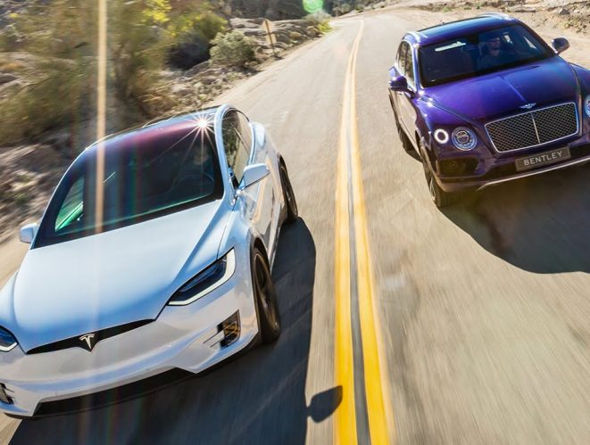 Bentley Bentayga contra Tesla Model X
