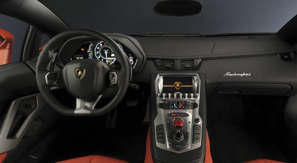 Lamborghini Aventador salpicadero