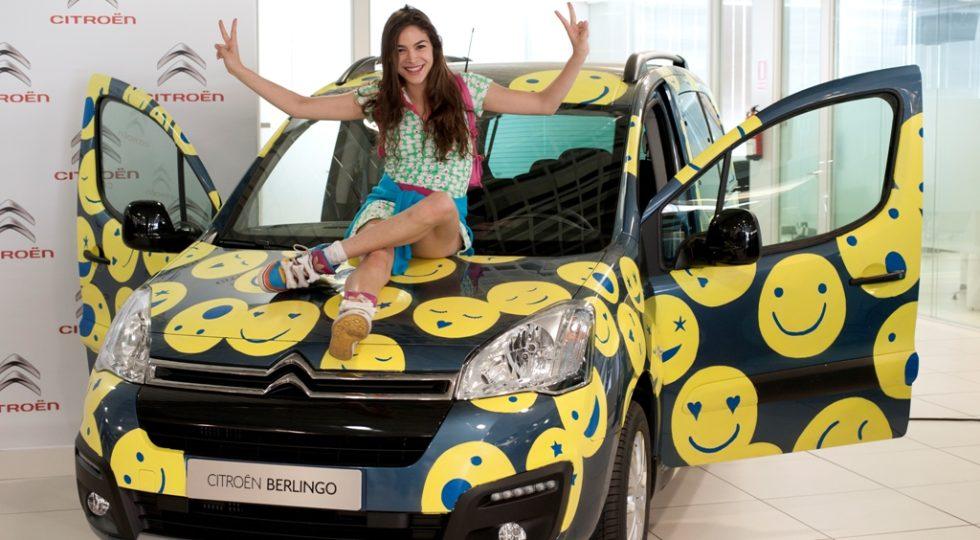 Citroën Berlingo y Cósima Ramírez