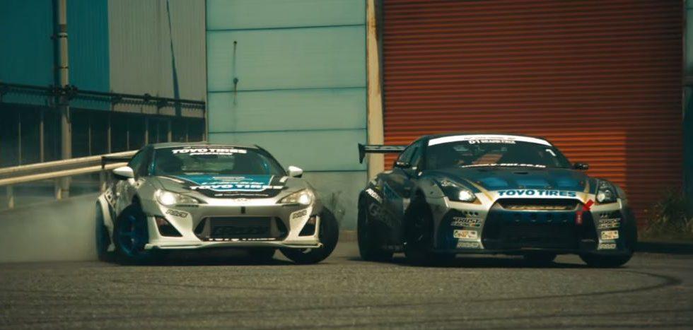 Nissan y Toyota: 1.000 CV para derrapar sin límites en una fábrica