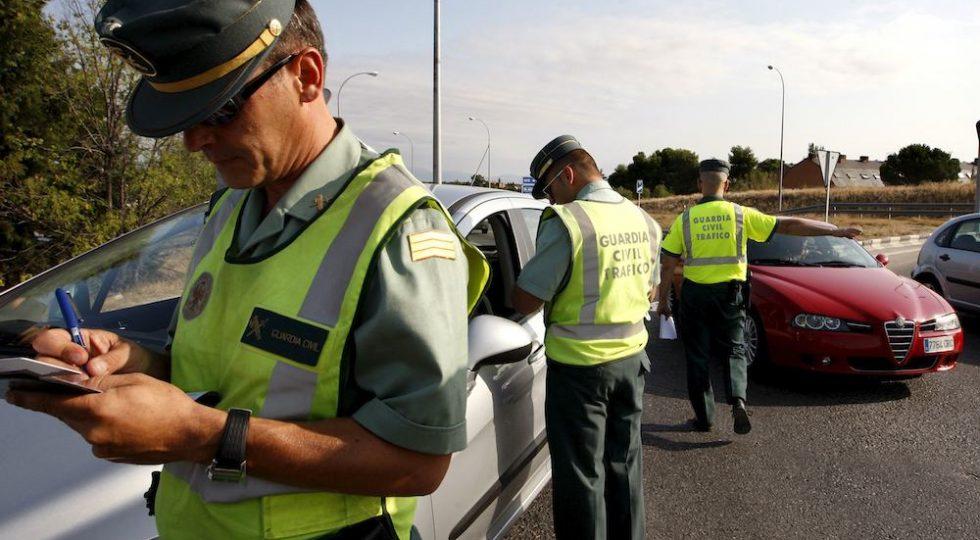 Controles de Guardia civil