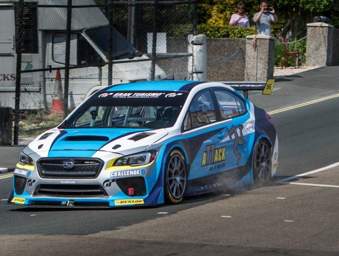 Subaru en Isla de Man