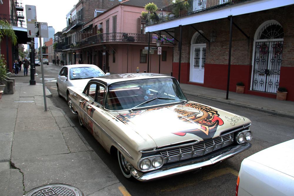 Los coches extraordinarios surgidos del carnaval de Nueva Orleans