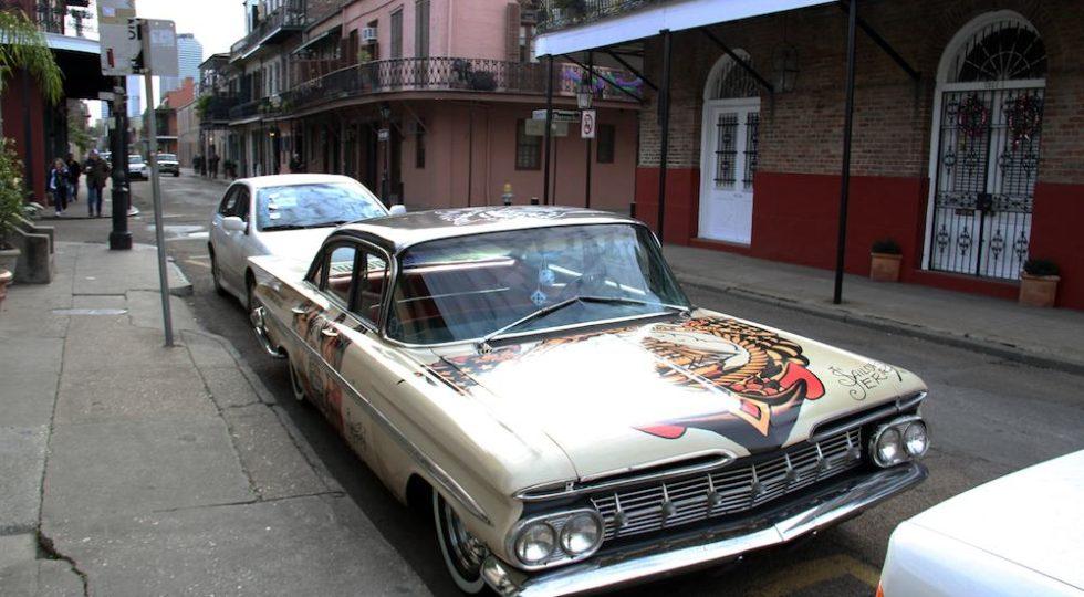 Los coches del Carnaval de Nueva Orleans