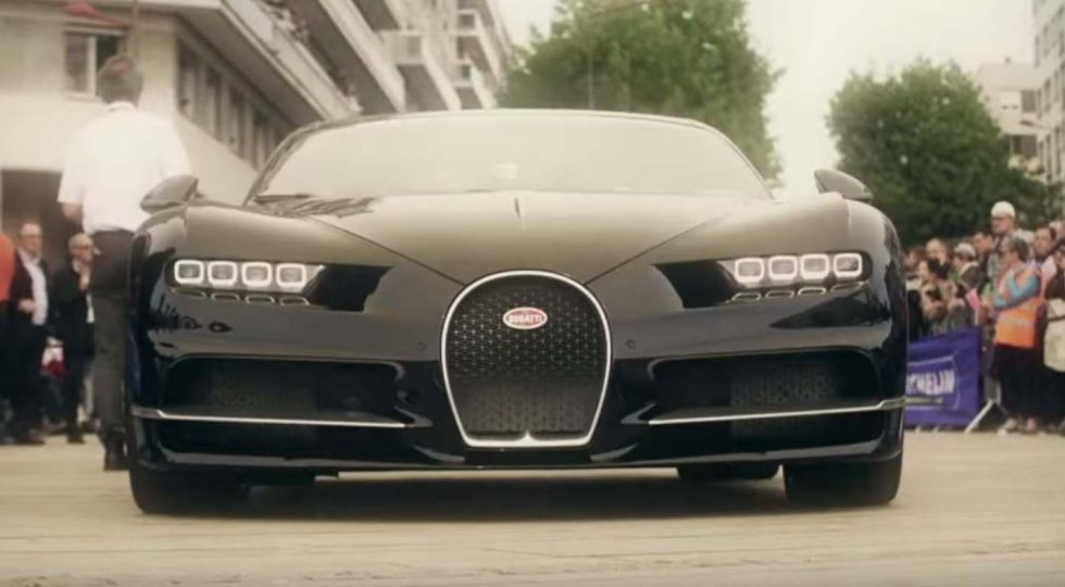 El Bugatti Chiron también deslumbró en Le Mans