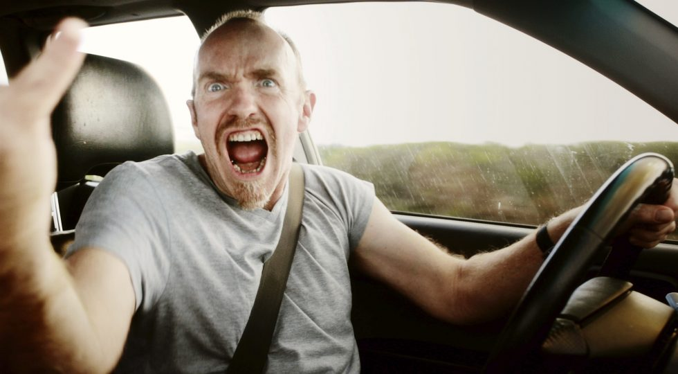 Estrés al volante