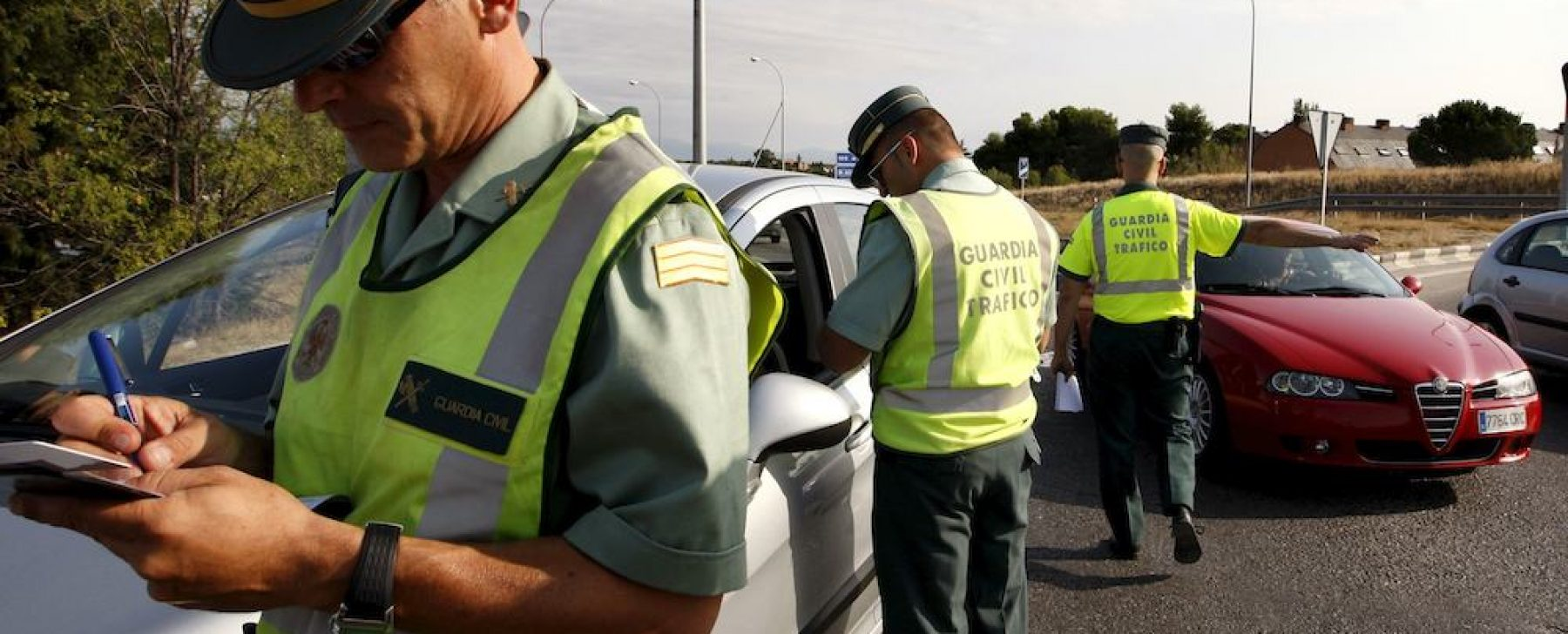 Controles de Guardia civil
