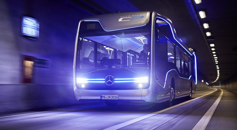Autobús autónomo Mercedes