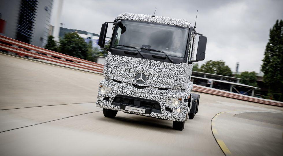 Camión Eléctrico Mercedes Urban eTruck