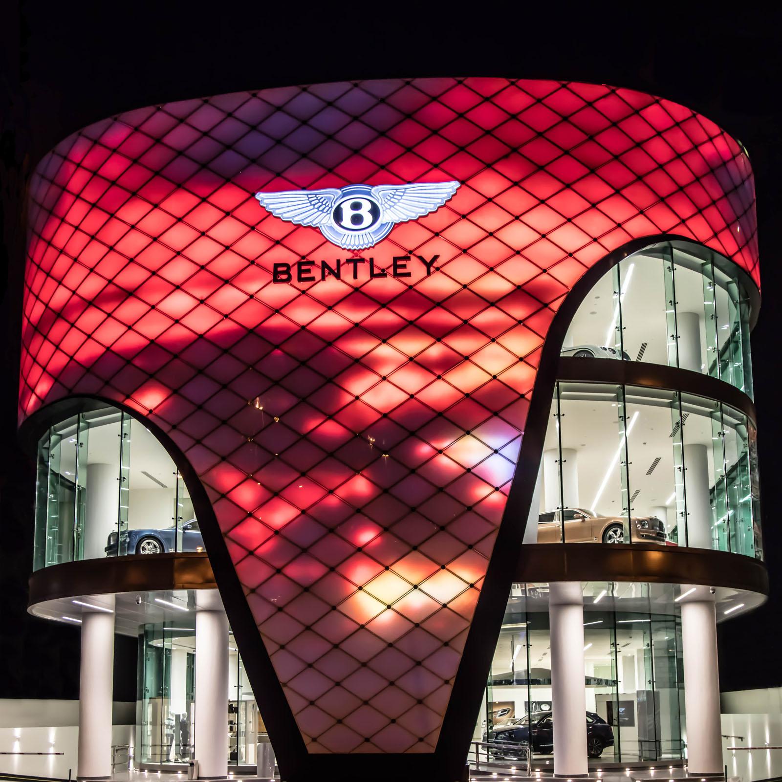 Concesionario Bentley Dubái