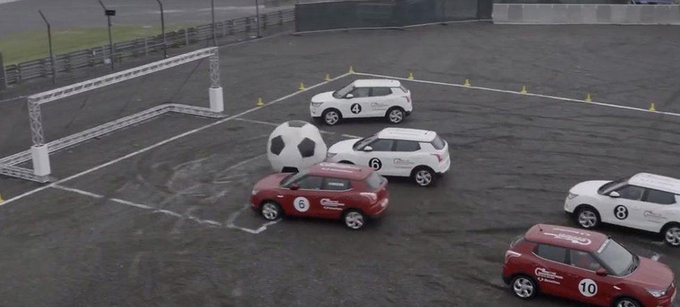 Fútbol Ssangyong Tivoli