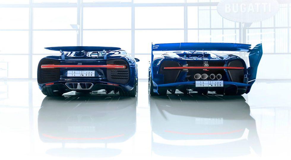 Bugatti Chiron y Vision Gran Turismo Concept