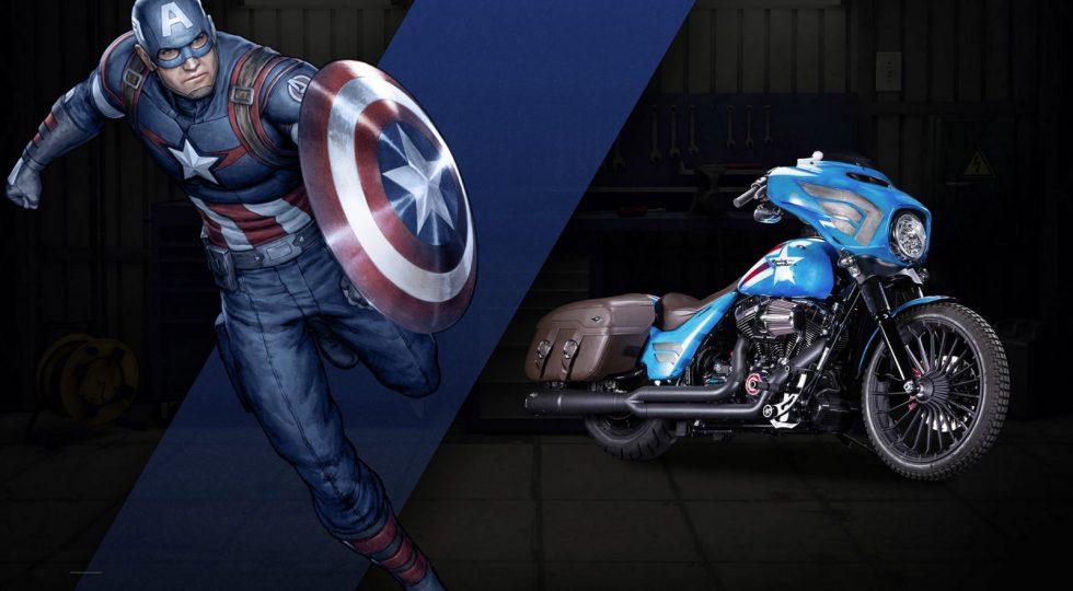 Harley Davidson Capitán América