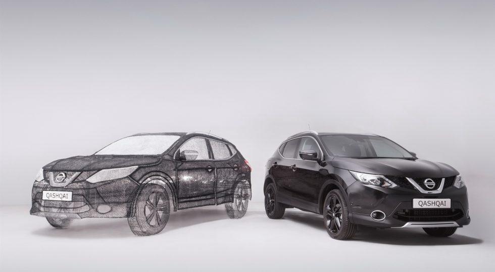 Nissan Qashqai impresión 3D