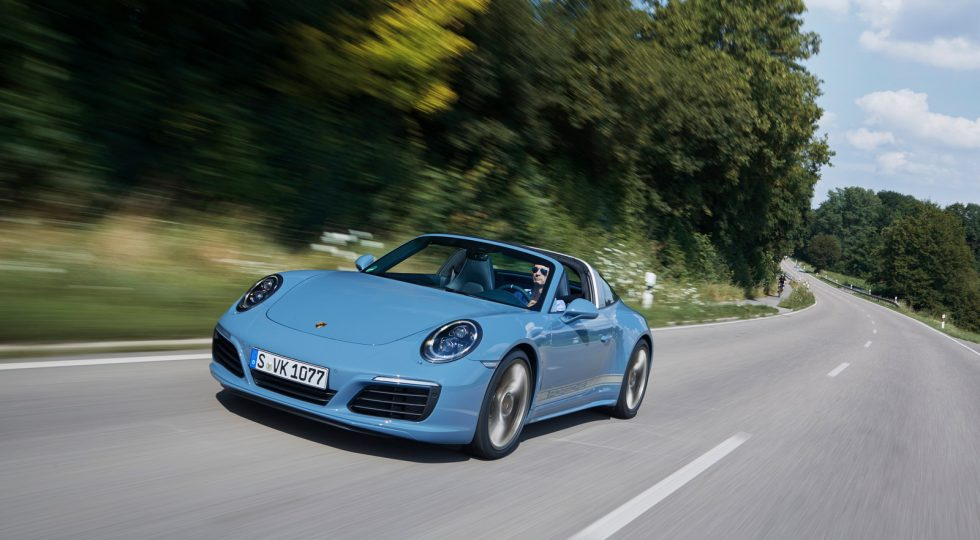 Porsche 911 Targa 4S Design Edition