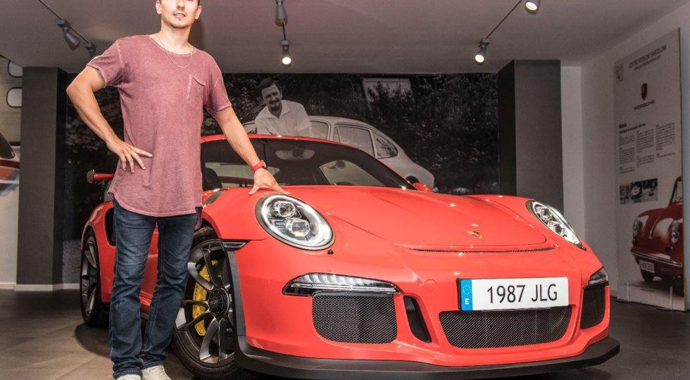 Porsche 911 GT3 RS Jorge Lorenzo