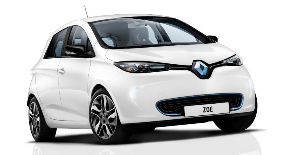 Renault Zoe entre los coches 2017