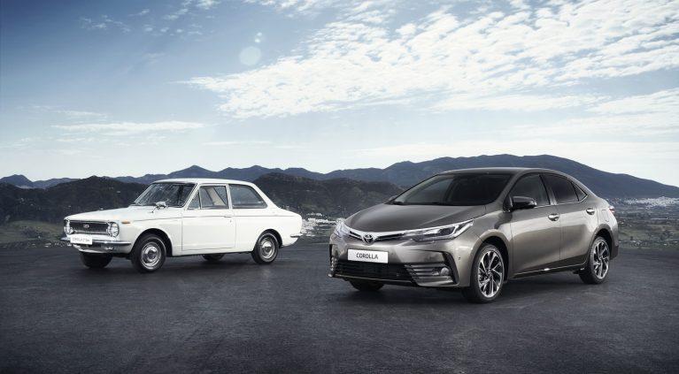 Toyota Corolla: los 50 años del coche más vendido del mundo