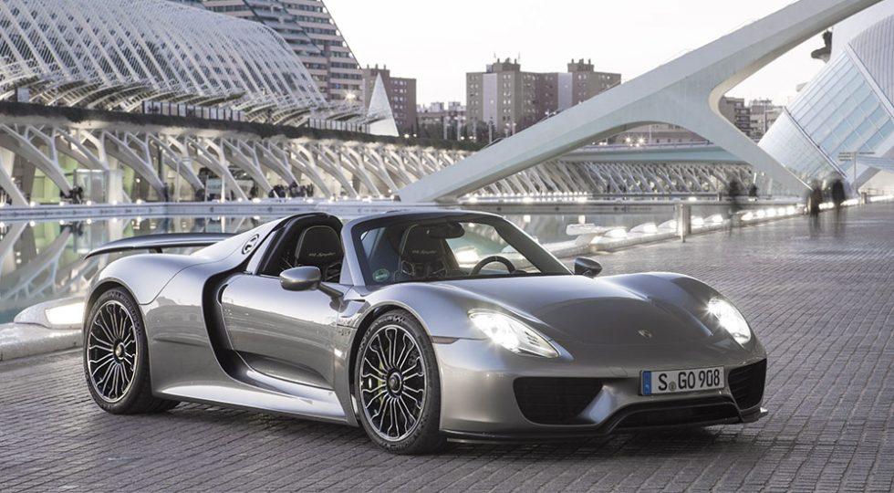acelerador Porsche 918 Spyder