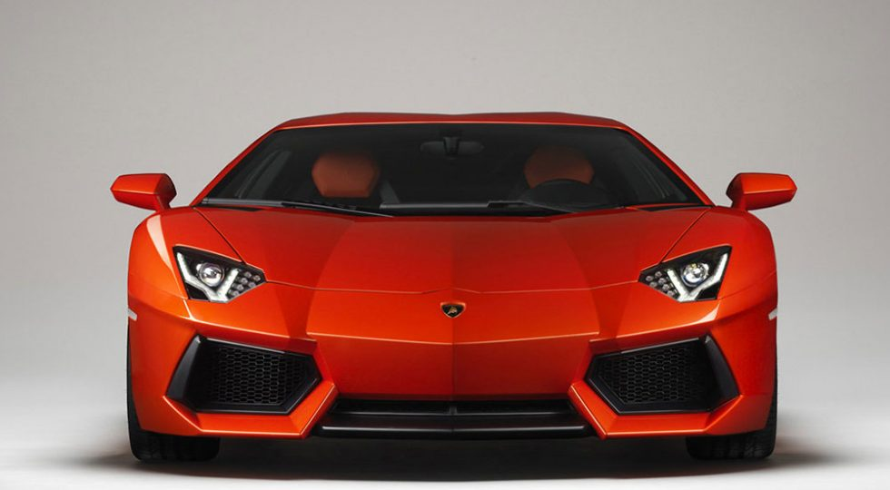 acelerador de Lamborghini