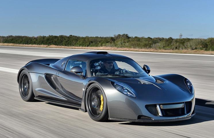 acelerador Hennessey Venom GT