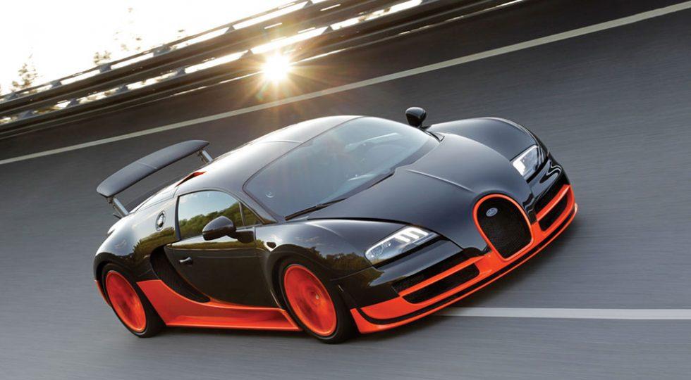 Acelerador Bugatti Veyron