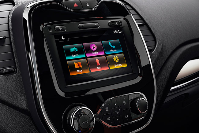 música en el coche
