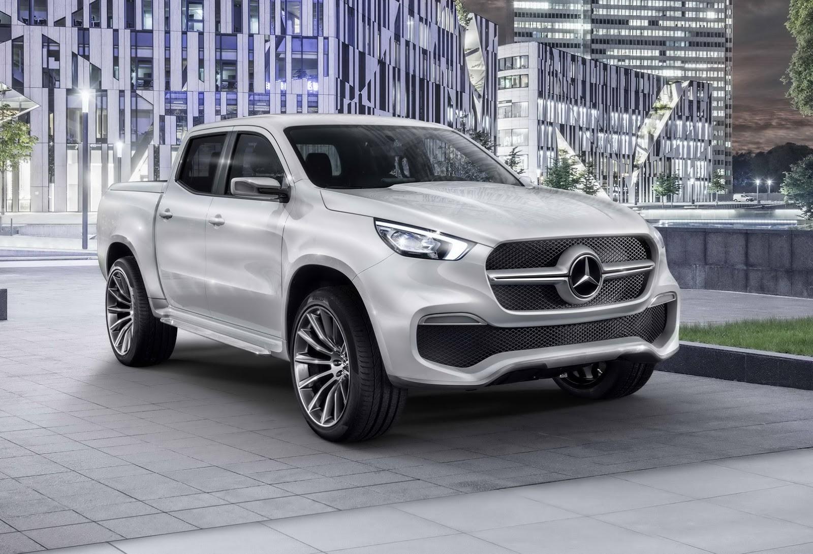 Mercedes Concept Clase X