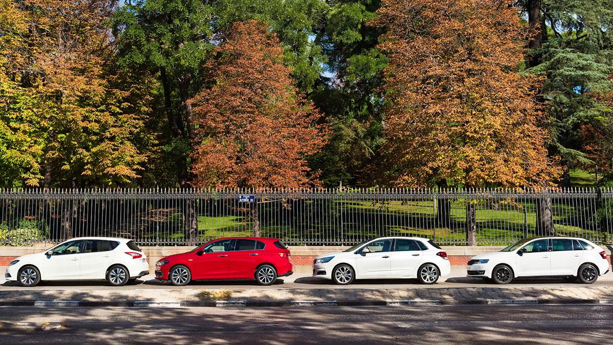 coches familiares compactos