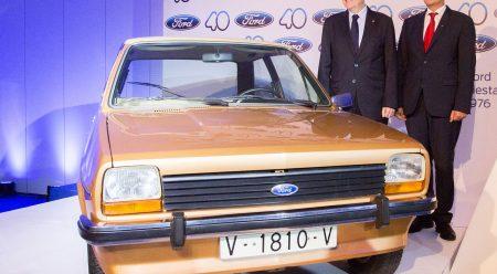 Los 40 años de Ford en España, en 40 imágenes
