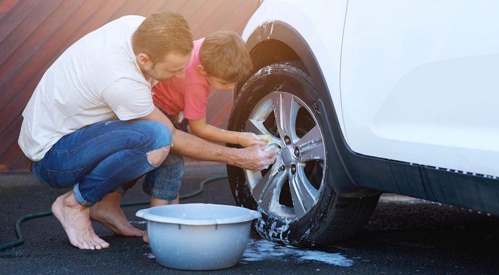 cómo limpiar el coche