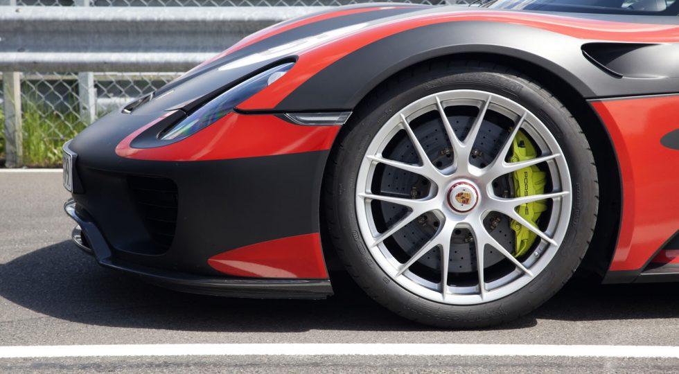 Llantas de magnesio Porsche 918 Spyder: 30.000 euros