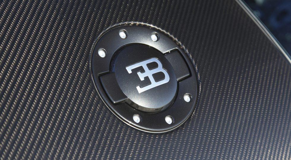 Carrocería de carbono del Bugatti Veyron: 283.000 euros