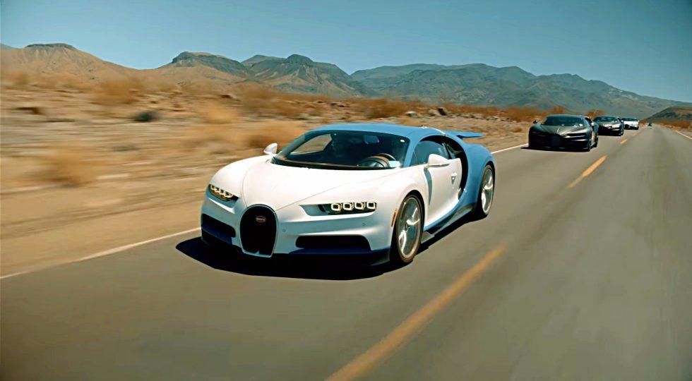 5. Bugatti Chiron // 420 km/h