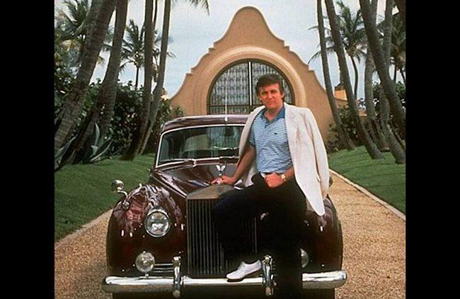 Los coches de Donald Trump