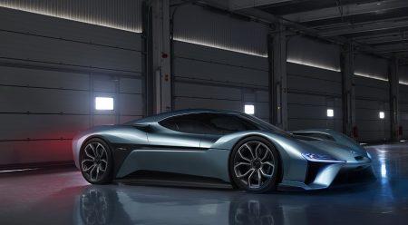 NIO EP9, el coche eléctrico de los 1.360 CV