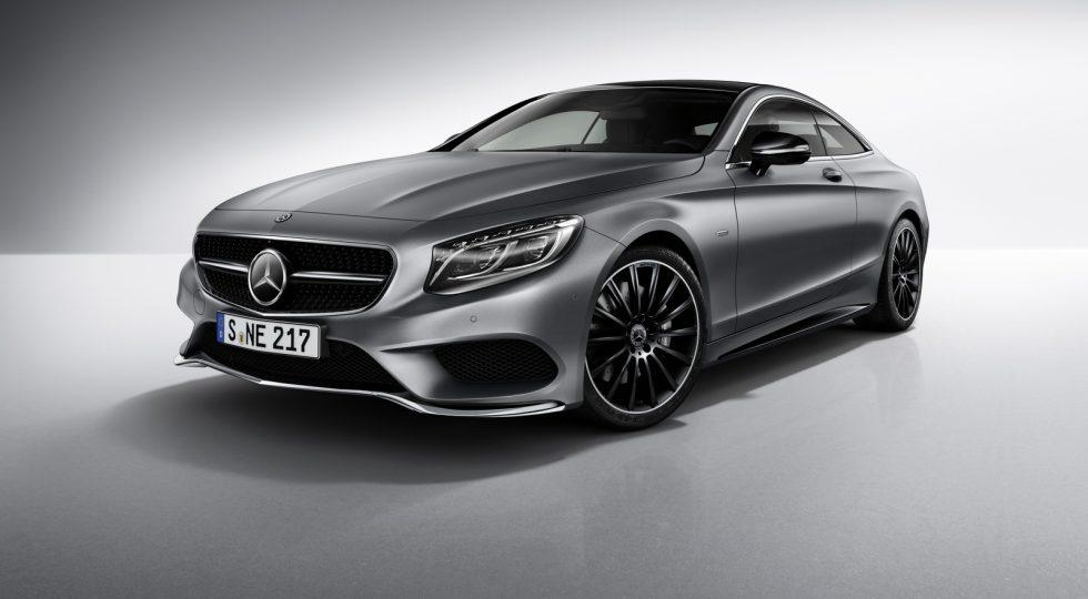 Mercedes Clase S Coupé Night Edition
