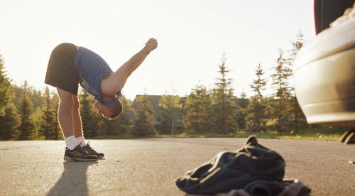 10 ejercicios para ponerte en forma durante el atasco