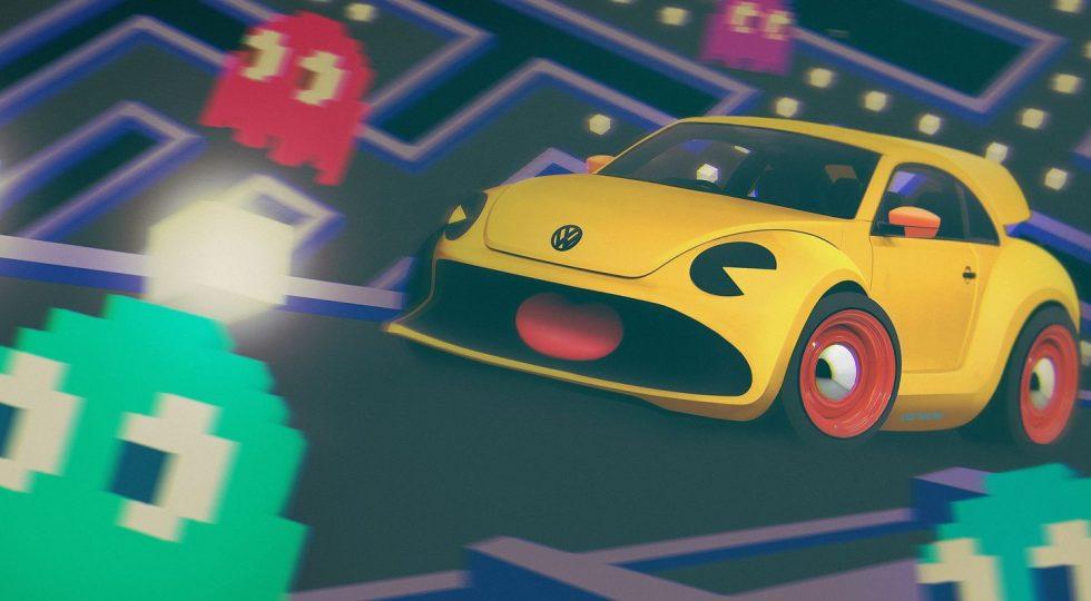 PacMan Volkswagen Beetle