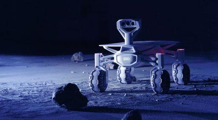 Audi lunar quattro: tracción integral para circular por la Luna